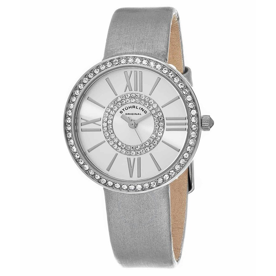 Vogue Silver-tone Dial Ladies Watch M15316