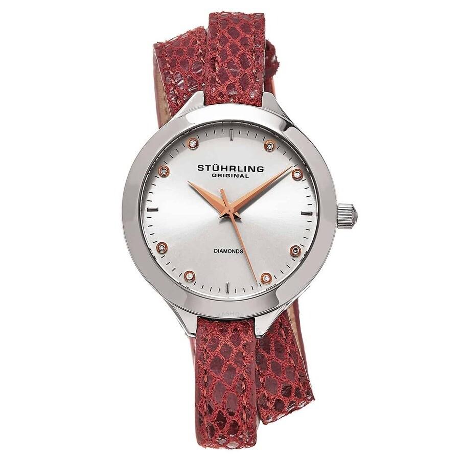 Vogue Silver-tone Dial Ladies Watch M15355