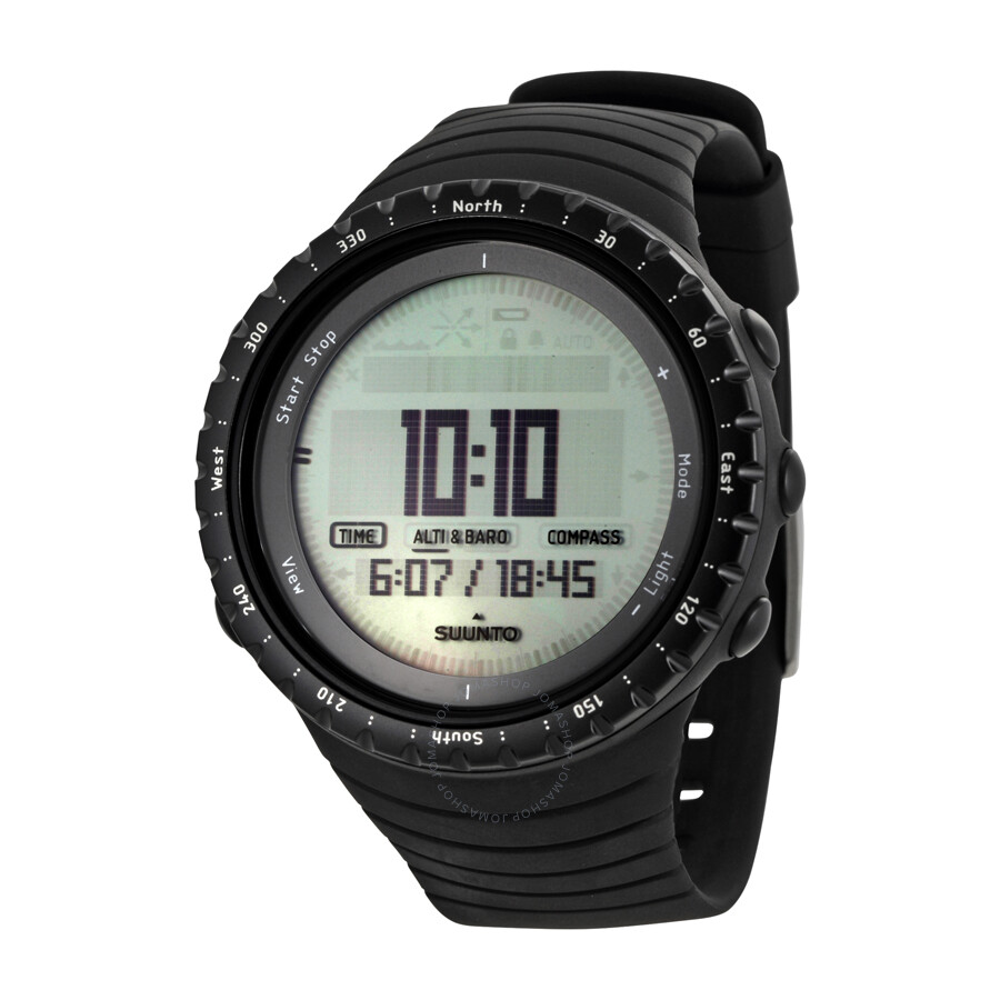 suunto core regular outdoor digital watch ss014809000 suunto watches jomashop