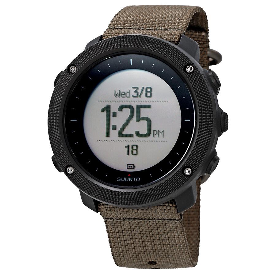 Suunto traverse alpha foliage men 39 s outdoors watch ss022292000 suunto watches jomashop for Outdoor watches