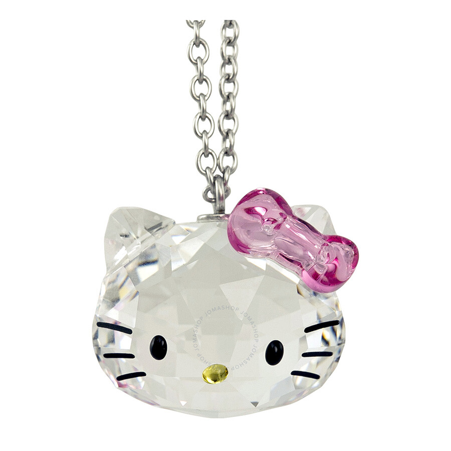 Swarovski Hello Kitty Crystal Pendant Necklace 1100031 Swarovski