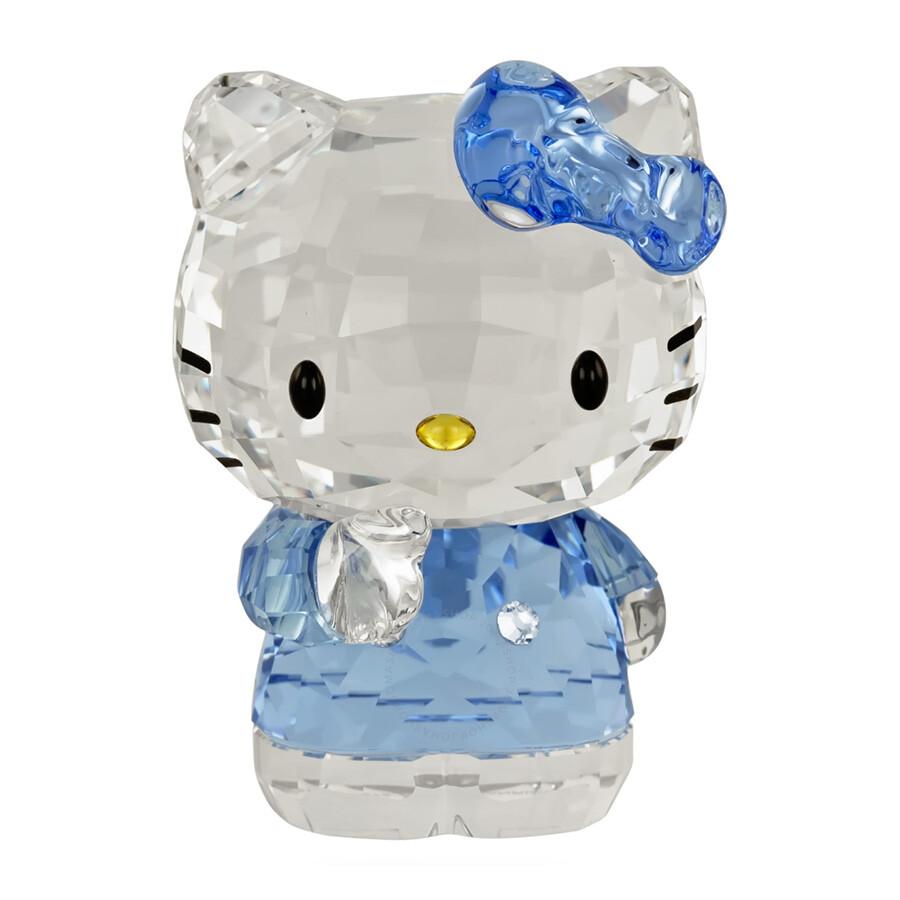 7920aacdb Swarovski Hello Kitty Blue Bow Figurine - Swarovski - Crystals ...