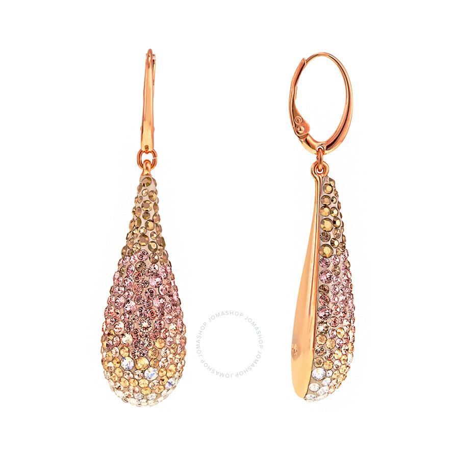 swarovski abstract pierced earrings 5046998