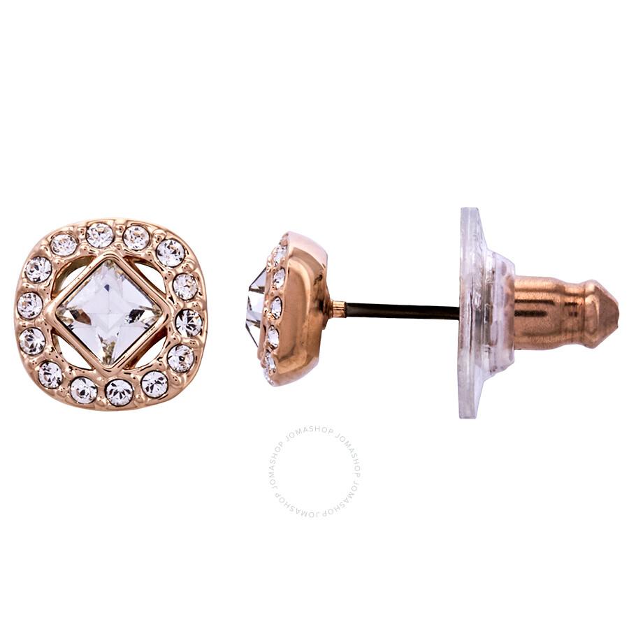 b8906b400 Swarovski Angelic Rose Gold Square Earrings Swarovski Angelic Rose Gold Square  Earrings