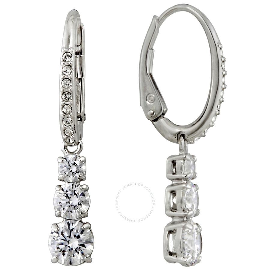 7d4c69164 Swarovski Attract Trilogy Pierced Earrings Swarovski Attract Trilogy  Pierced Earrings
