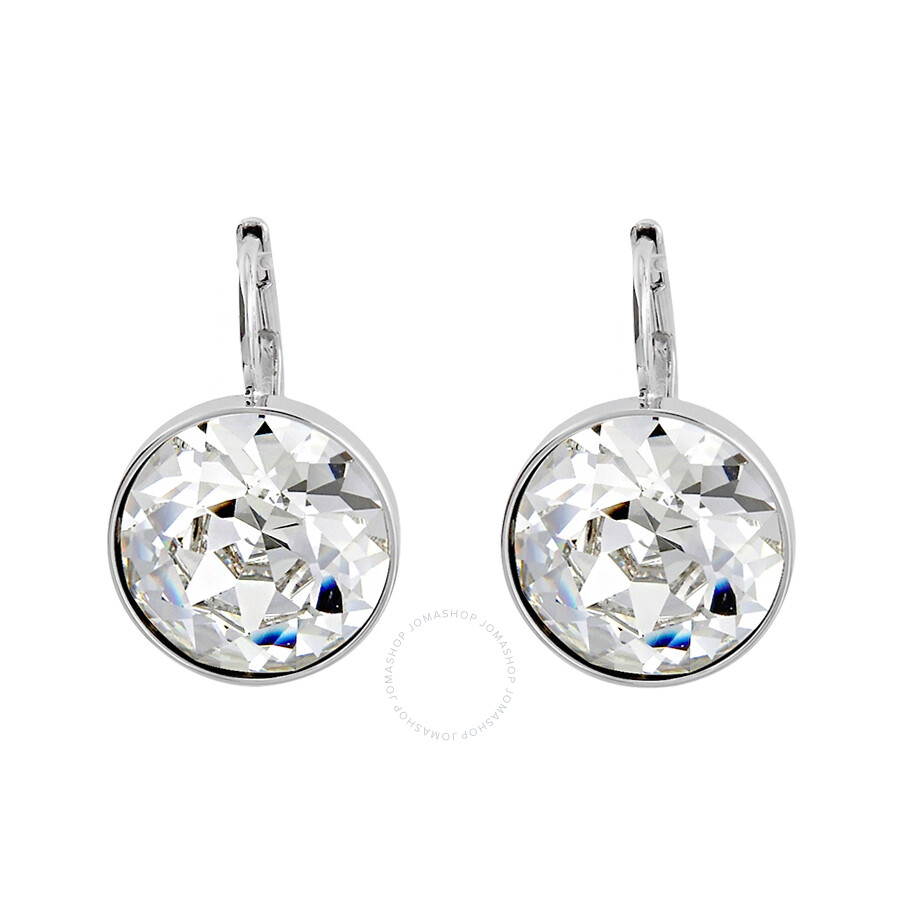 Swarovski Bella Clear Crystal Pierced Earrings 883551 ...