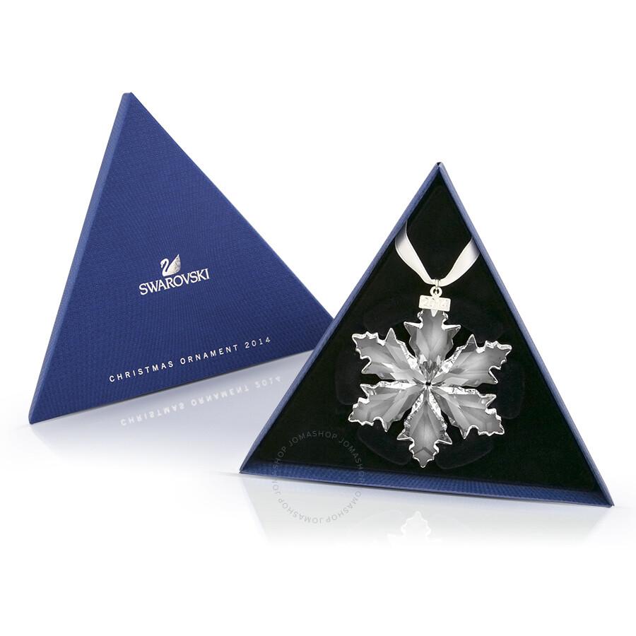 Swarovski Christmas Snowflake 2014 Annual Edition Ornament ...