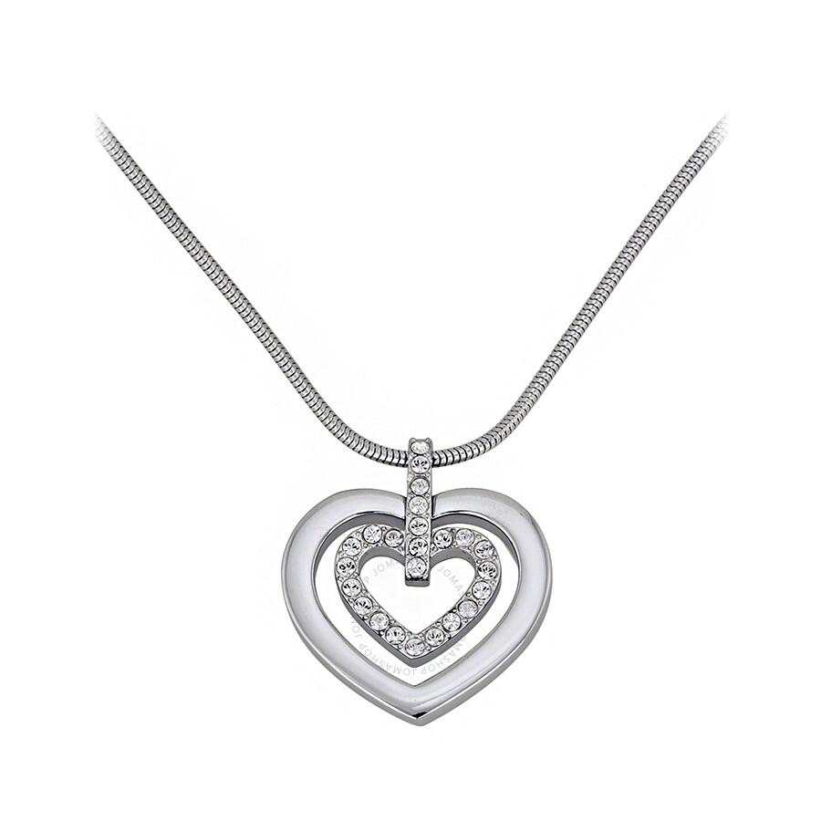 Swarovski circle heart pendant 5113776 swarovski ladies swarovski circle heart pendant 5113776 mozeypictures Images