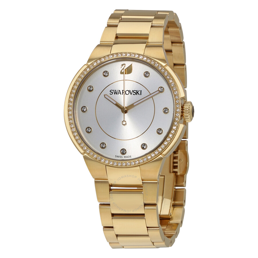 a7528cd5561b Swarovski City Crystal Silver Dial Ladies Watch 5213729 - Swarovski ...
