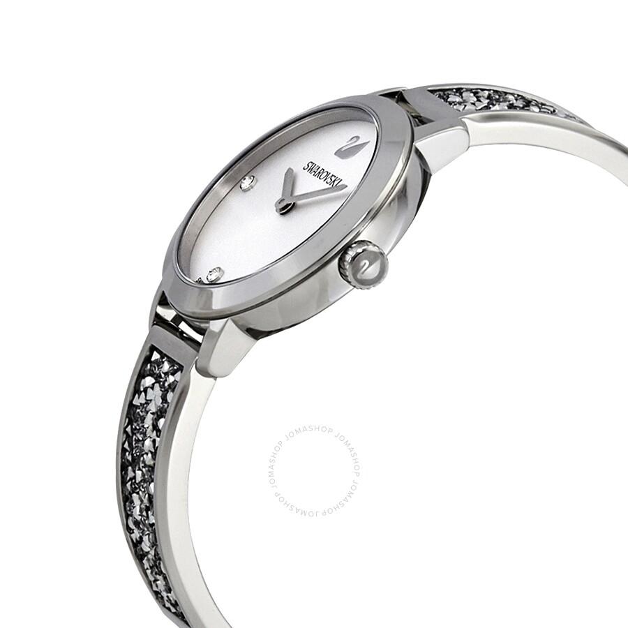 94372e2c6 ... Swarovski Cosmic Rock Crystal White Dial Ladies Watch 5376080 ...