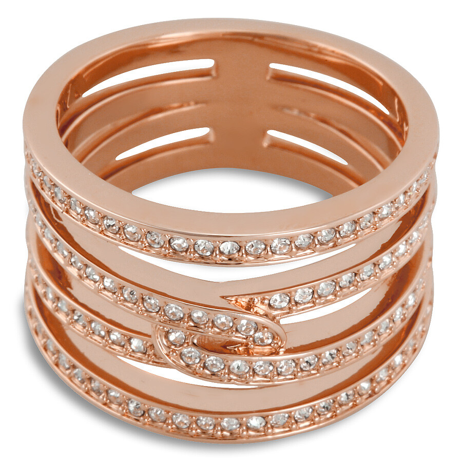 swarovski creativity rose gold tone ring size 8 swarovski ladies jewelry jewelry jomashop. Black Bedroom Furniture Sets. Home Design Ideas