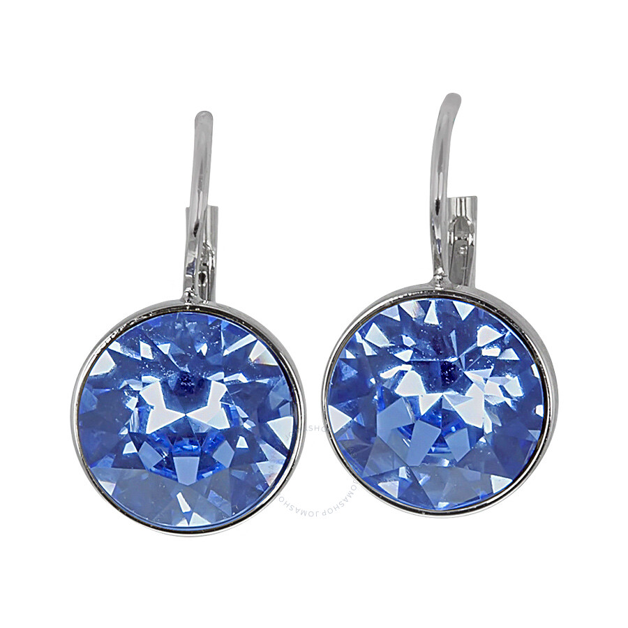 7ab547b2f5e4d Swarovski Crystal Bella Mini Light Sapphire Pierced Earrings