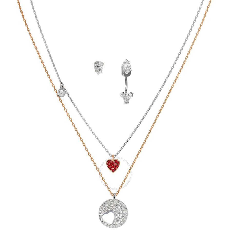 71ec1785c Swarovski Crystal Wishes Set - Red - 5291089 - Swarovski - Ladies ...