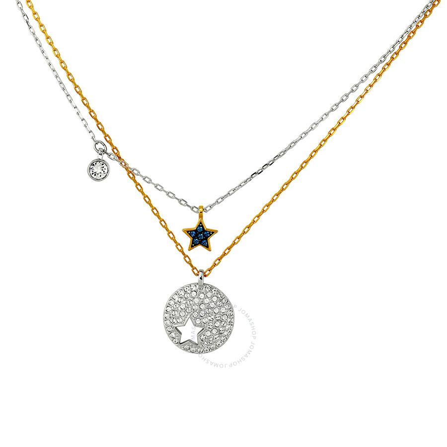 a0029b803 Swarovski Crystal Wishes Star Pendant Set - Blue Item No. 5253997