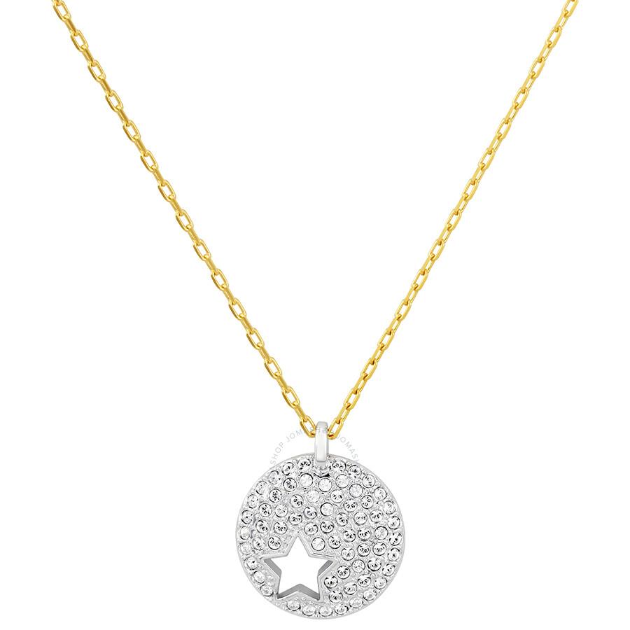 1e7fed8bb Swarovski Crystal Wishes Star Pendant Set - Blue - Swarovski ...