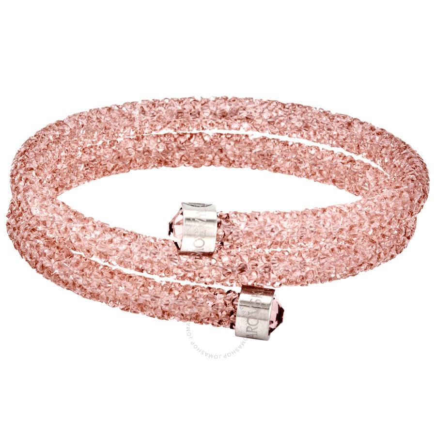Swarovski Crystaldust Ladies Rose Bracelet