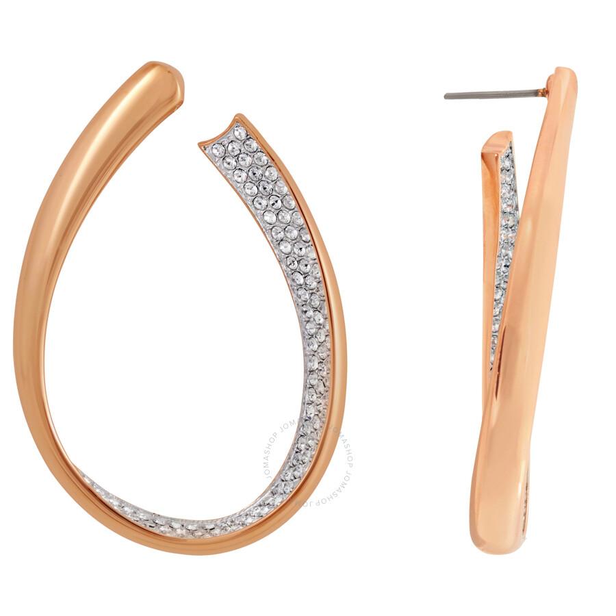 swarovski exist hoop earrings 5182322 swarovski