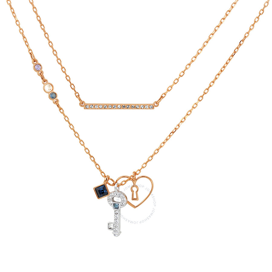 Swarovski Glowing Key Necklace, Blue 5273295 - Swarovski - Ladies ...