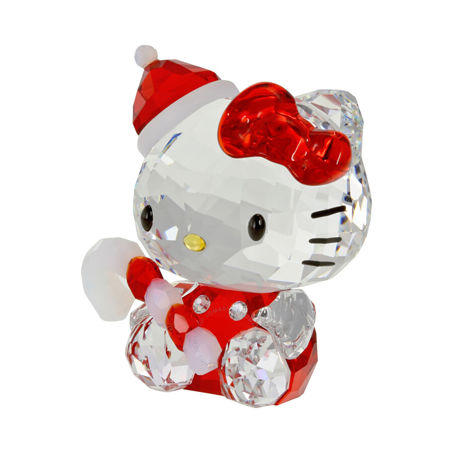Swarovski Hello Kitty Santa 1142935 Swarovski Crystals