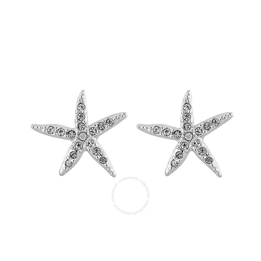d81df0f39 Swarovski Holly Starfish Pierced Earrings - Best All Earring Photos ...