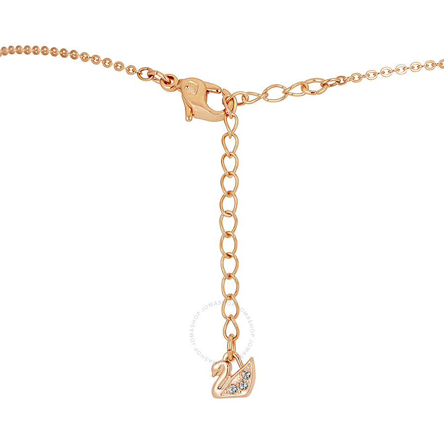 8aa972e2d Swarovski Iconic Swan Double Necklace - Black - 5296468 - Swarovski ...