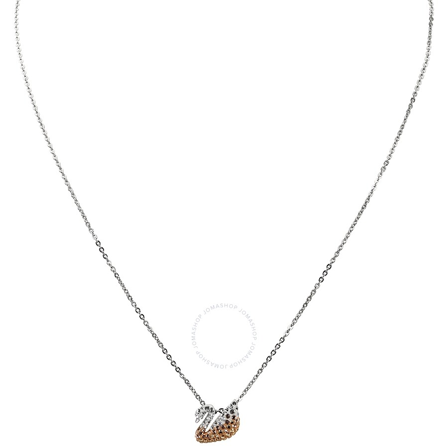 cd980d688edb18 Swarovski Iconic Swan Small Crystal Pendant Necklace 5215038 ...