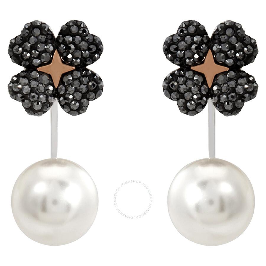 b249a690e Swarovski Latisha Pierced Flower Earrings - Swarovski - Ladies ...