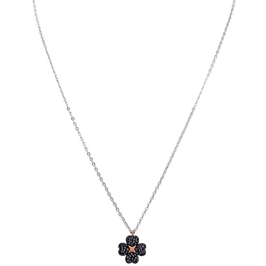 ed09820bbef Swarovski Latisha Reversible Rhodium-Plated Flower Pendant Item No. 5368980