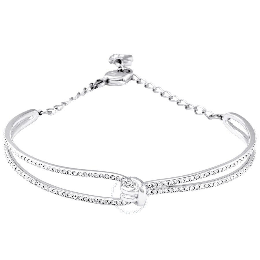 Swarovski Lifelong Knot Bangle Size M Swarovski Ladies