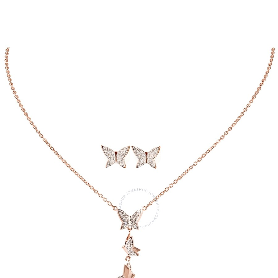 Swarovski Lilia Necklace Earring Set