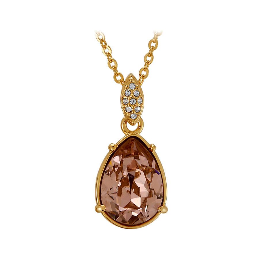 swarovski lime pendant necklace 1051158 swarovski