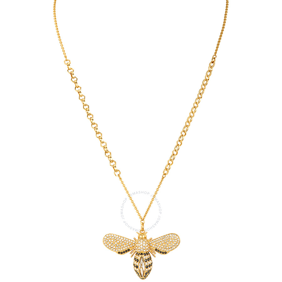 4a6189c9a Swarovski Lisabel Gold-Plated Bee Necklace - Swarovski - Ladies ...