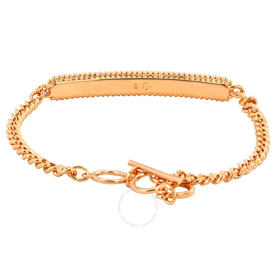 Swarovski Locket Bracelet Pink Rose Gold Plating Size Medium 5390255