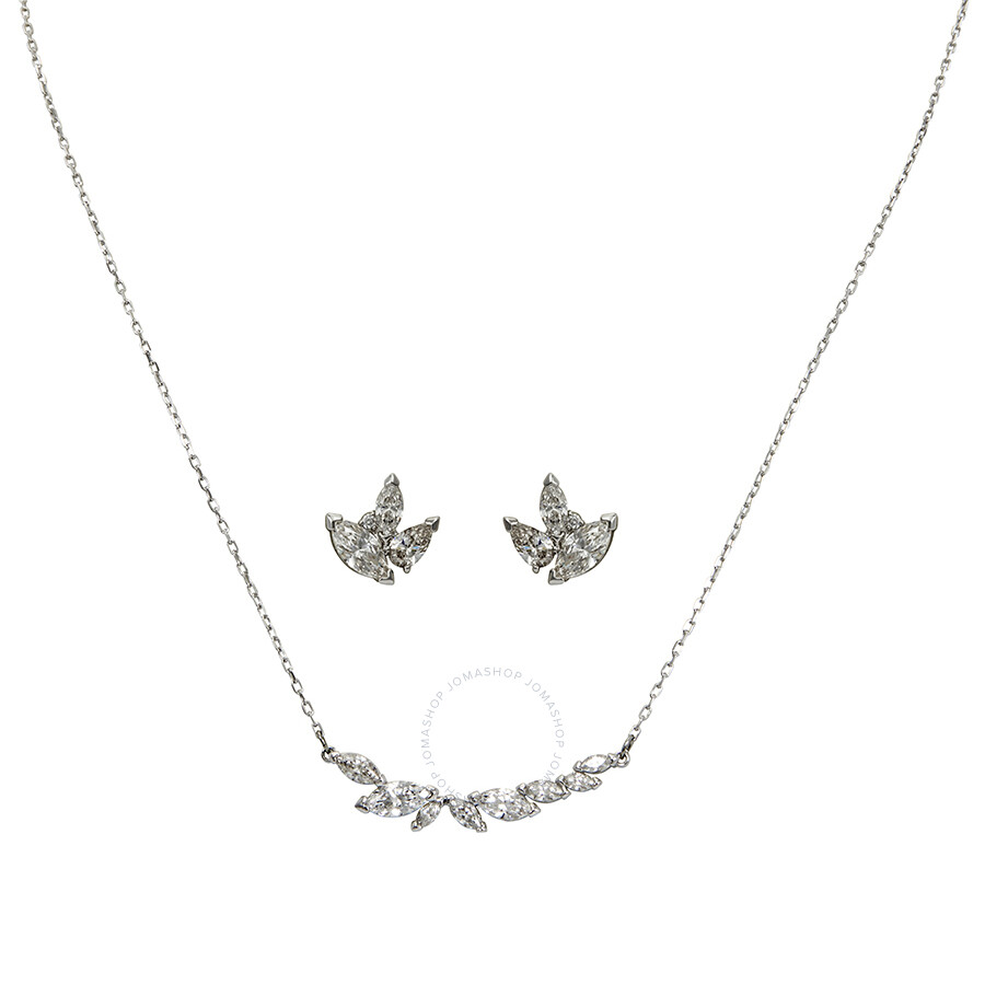 Swarovski Louison Necklace And Earrings Set
