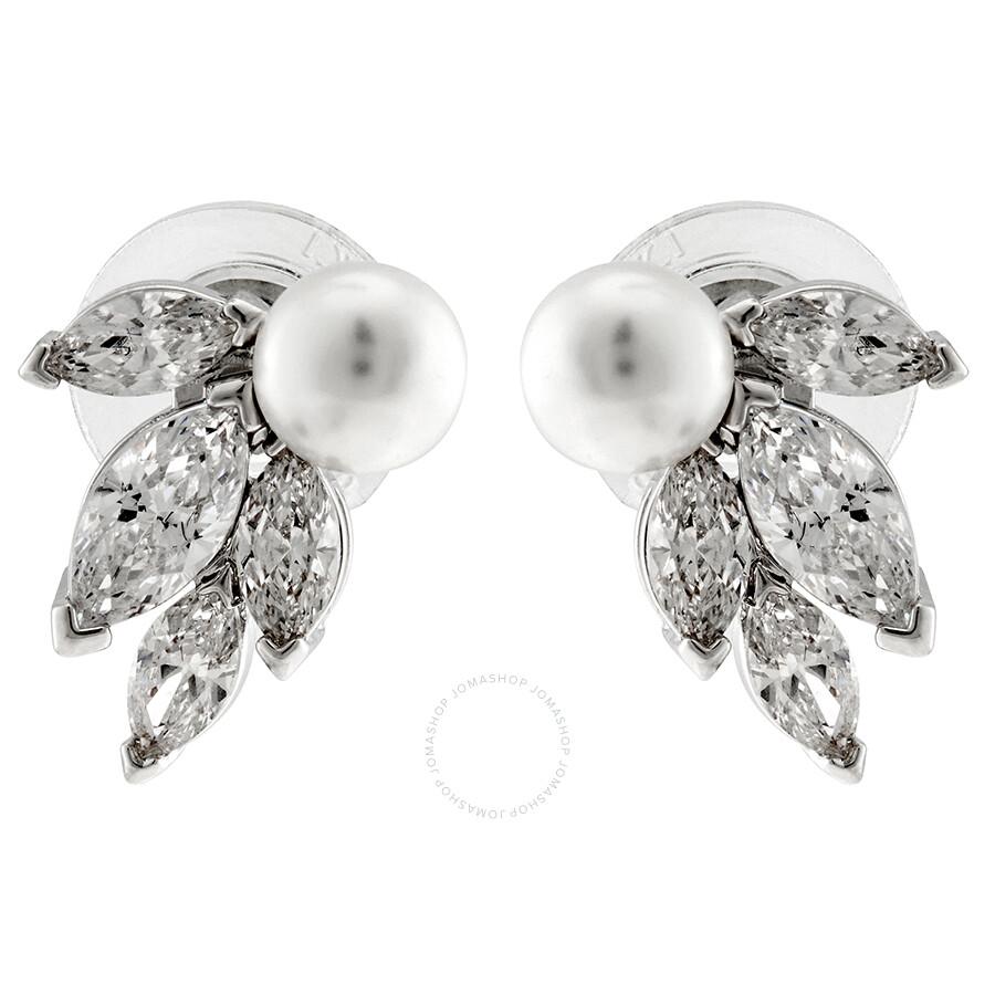 70849ba7cd21b9 Swarovski Louison Pearl Earrings - Swarovski - Ladies Jewelry ...