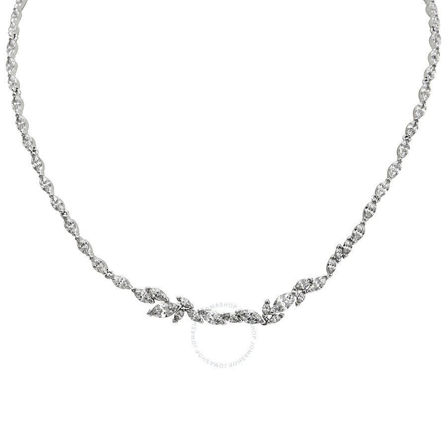 7eed986ef Swarovski Louison Rhodium Plated Necklace - Swarovski - Ladies ...