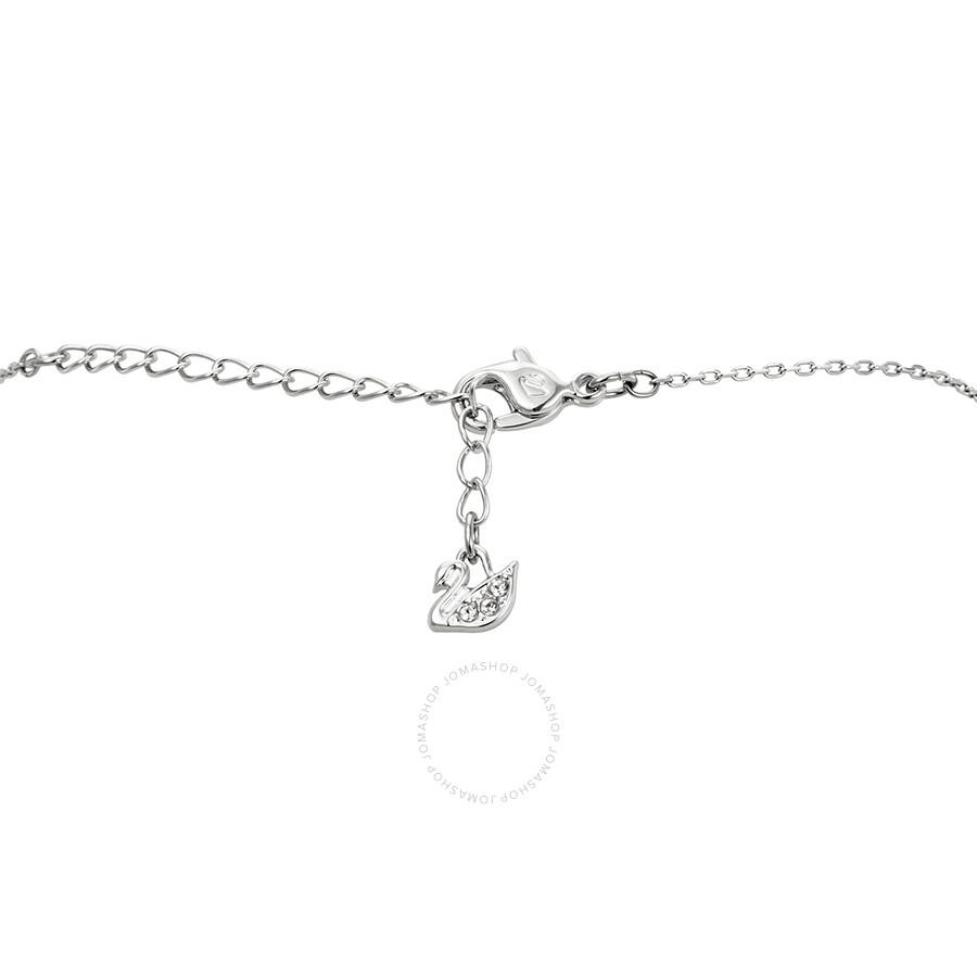 a0279a6f1 Swarovski Louison Small Rhodium Necklace Swarovski Louison Small Rhodium  Necklace