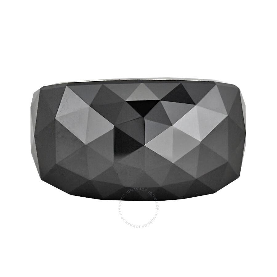 Swarovski Nirvana Petite Jet Hematite Ring Size 7 1152568 ... 6a63674f0f72