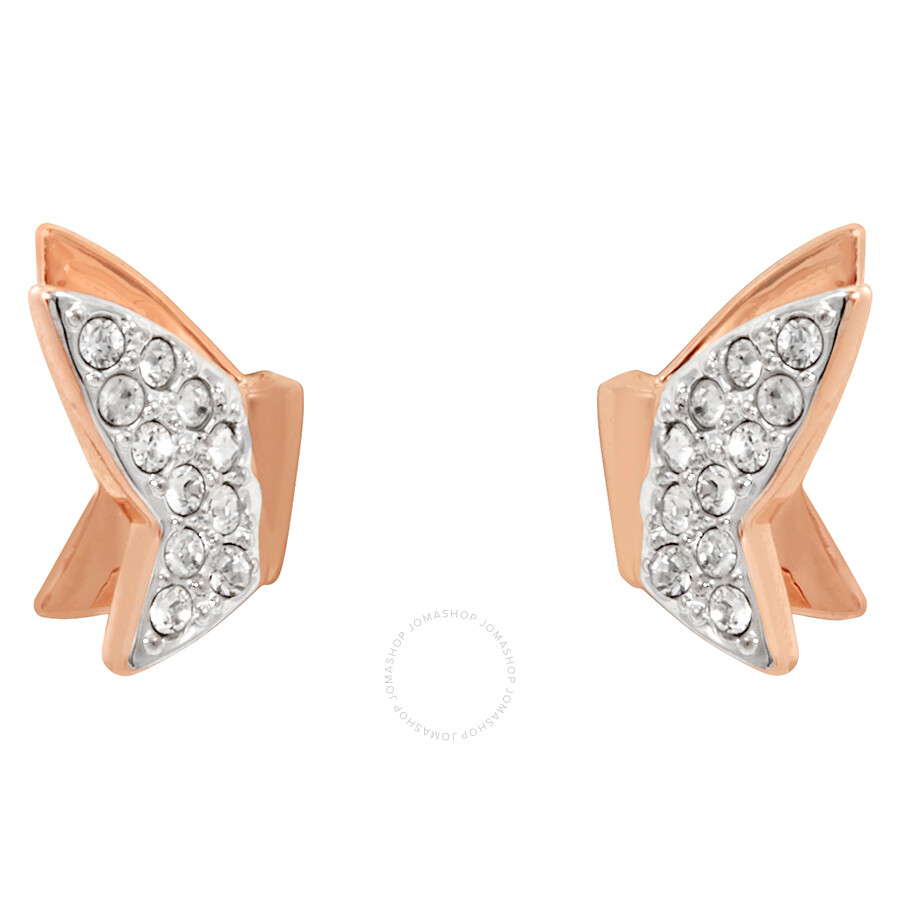 023f8d092 Swarovski Rose Gold Lilia Fig Stud Earrings - Swarovski - Ladies ...