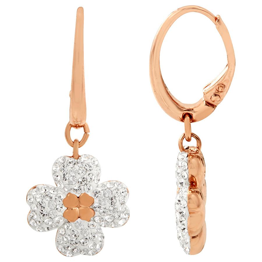 2505aa04e Swarovski Rose Gold Plated Latisha Earrings Swarovski Rose Gold Plated  Latisha Earrings