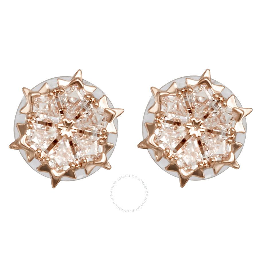 7ecffd3ec Swarovski Rose Gold-Plated Magic Pierced Earrings - Swarovski ...