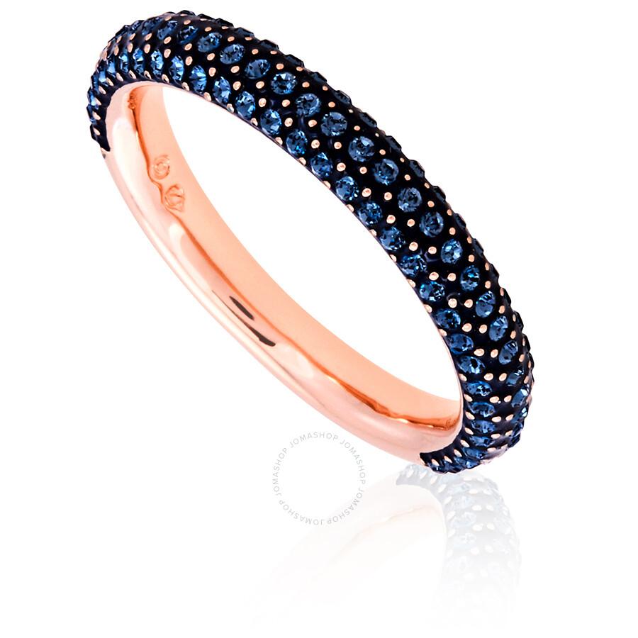 e245f0292 Swarovski Rose Gold Plated Stone Mini Ring Size 55