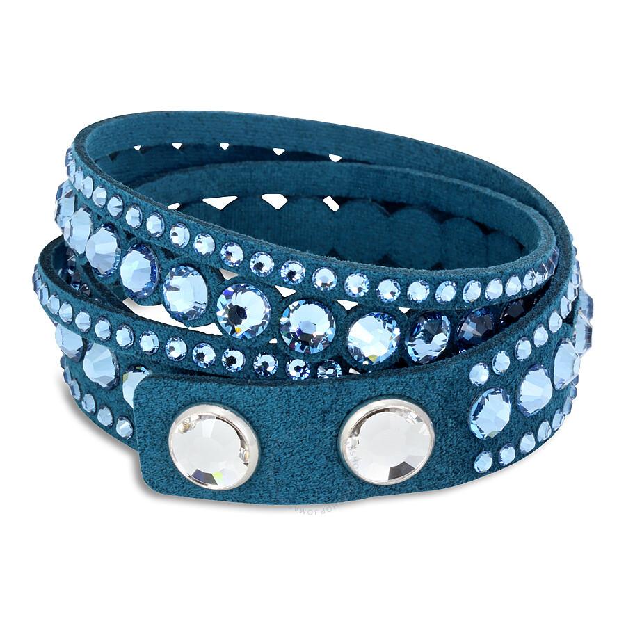 Swarovski Slake Aqua Dot Bracelet 5201117 Swarovski Slake Aqua Dot Bracelet  5201117