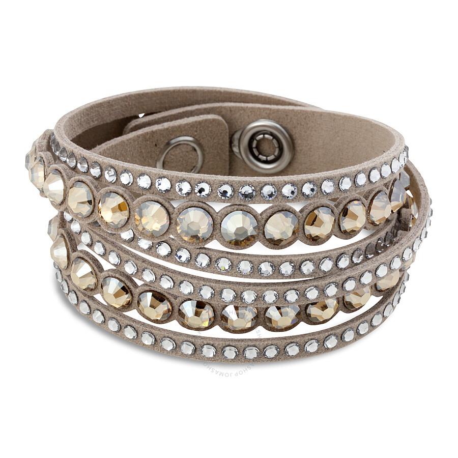 swarovski slake beige dot bracelet 5201121 swarovski ladies jewelry jewelry jomashop. Black Bedroom Furniture Sets. Home Design Ideas