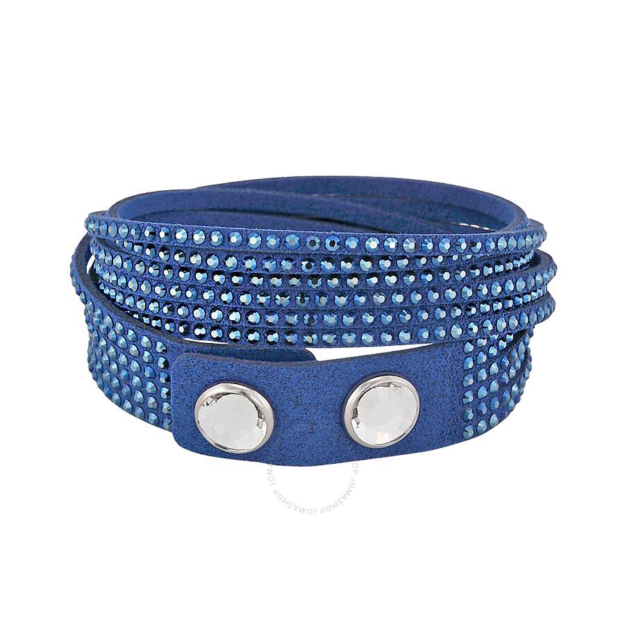 Swarovski Slake Dark Blue Bracelet 5037393