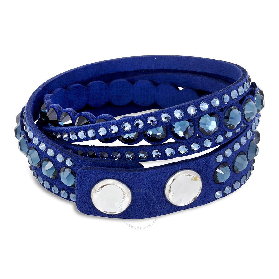 Swarovski Slake Dark Blue Dot Bracelet 5201718