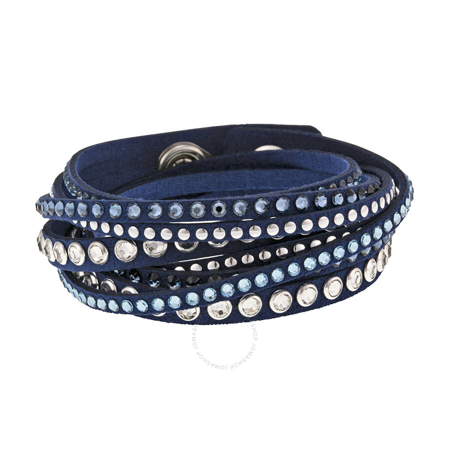 55d8515e0 Swarovski Slake Denim Blue Rock Bracelet - Swarovski - Ladies ...
