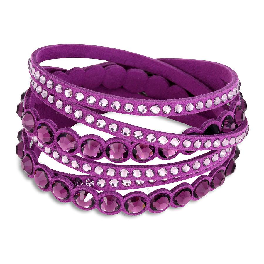 Swarovski Slake Purple Dot Bracelet 5201723