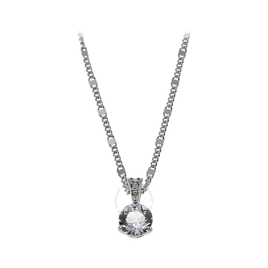 swarovski solitaire pendant necklace 1800045 swarovski. Black Bedroom Furniture Sets. Home Design Ideas