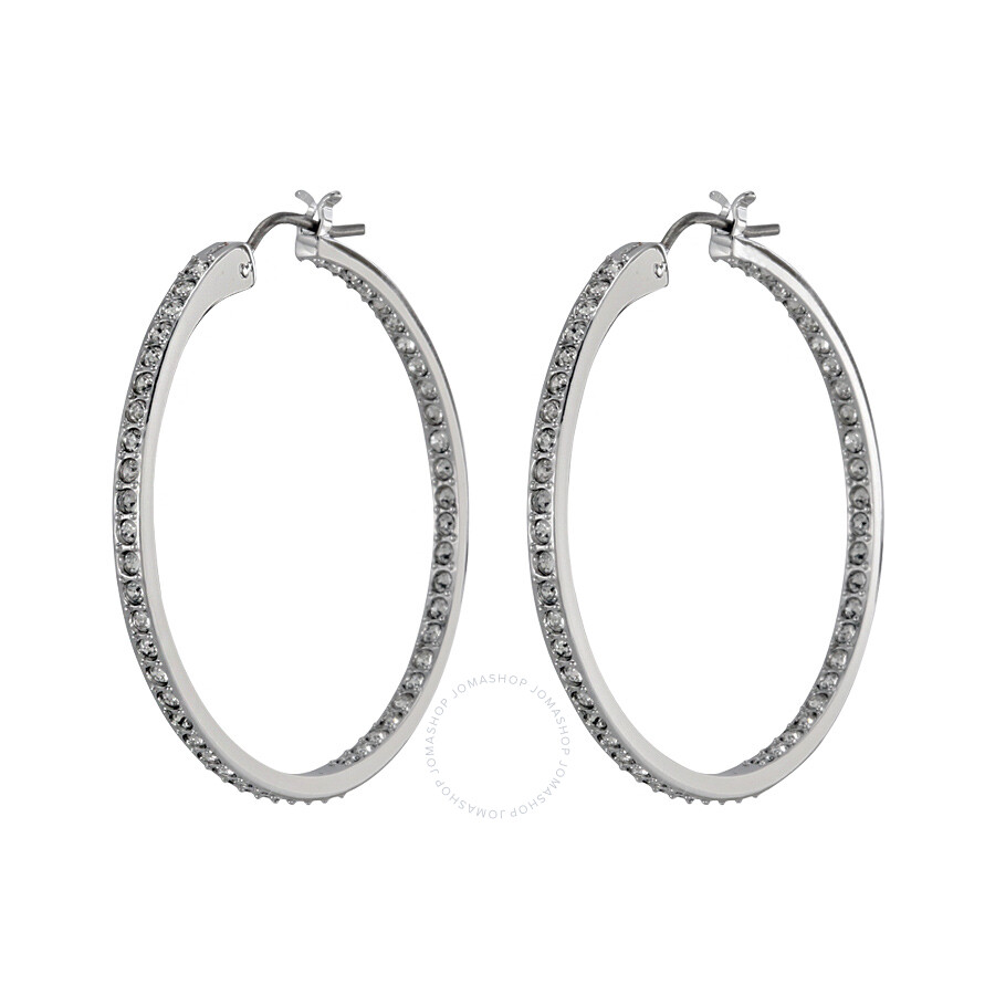 Swarovski Somerset Medium Hoop Pierced Earrings 1172369 ...